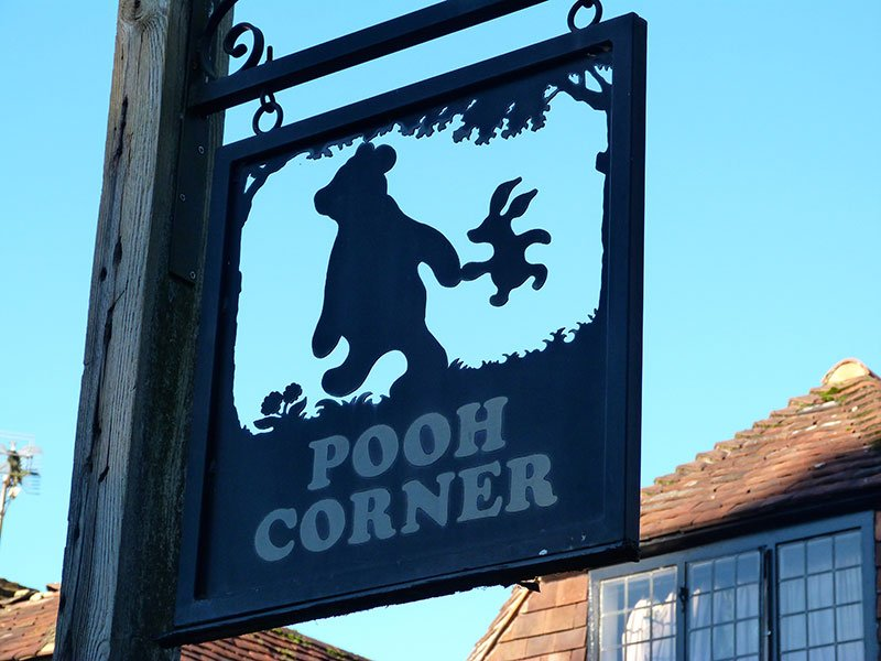"""197c46fa8693 Pooh Corner specialises in Winnie-the-Pooh and is home to the world s  largest selection of """"Pooh-phernalia"""". Mike Ridley created the Pooh Corner  shop in ..."""